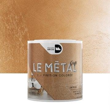 Enduit décoratif, Le métal griffé MAISON DECO, jaïpur, 0.5 l