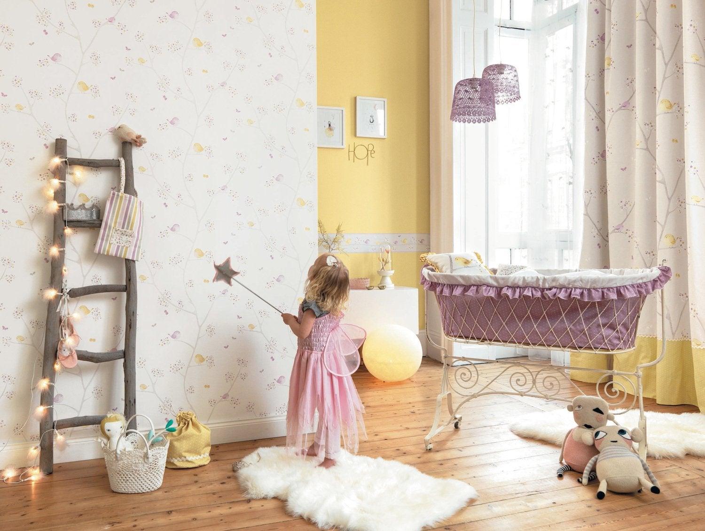 Chambre charmante et romantique pour bébé | Leroy Merlin