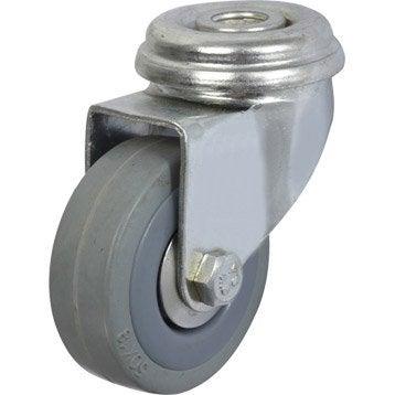 Roulette pivotante à oeil, Diam.50 mm