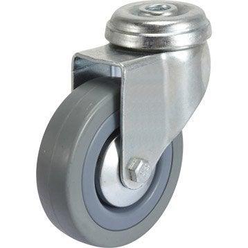 Roulette pivotante à oeil, Diam.75 mm