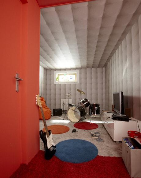 Une protection phonique idéale pour un salon de musique
