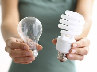 Les ampoules à économie d'énergie