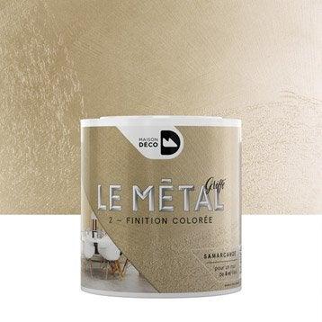 Enduit décoratif, Le métal griffé MAISON DECO, samarcande, 0.5 l