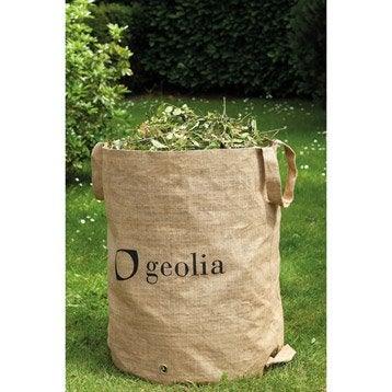 Sac à végétaux multi usage réutillisable GEOLIA 160 l