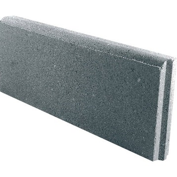 prix bordure beton 1m au meilleur prix | leroy merlin