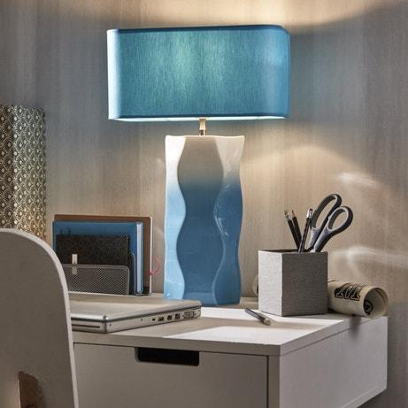Lampe de bureau turquoise, la touche en plus sur le bureau