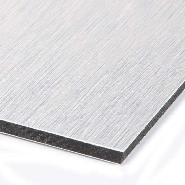 Plaque Pvc Expansé Polyéthylène Argent Lisse L 60 X L 50 Cm Ep 3 Mm