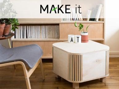 diy fabriquer une table basse avec coffre de rangement leroy merlin. Black Bedroom Furniture Sets. Home Design Ideas
