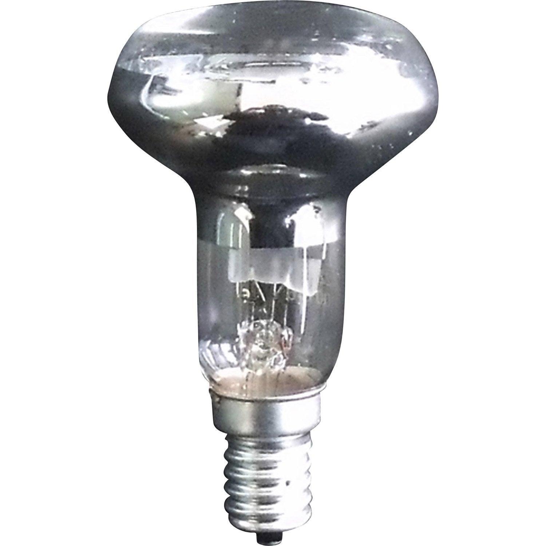 3 ampoules reflecteurs halogenes 42w 300lm leroy merlin for Leroy merlin lampadine led e14
