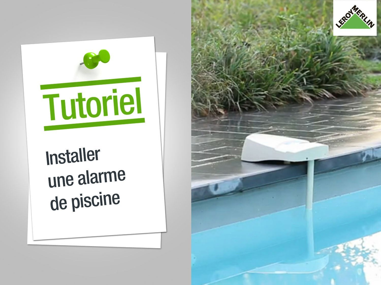 Comment installer une alarme de piscine ?