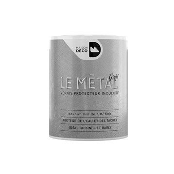 Peinture à effet, Le métal griffé MAISON DECO, 0.75 l