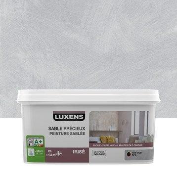 Peinture à effet, Sable précieux LUXENS, gris galet 4, 2 l