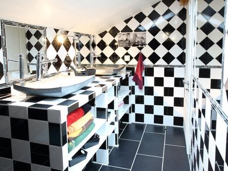 La salle de bains de Franck à Marseille