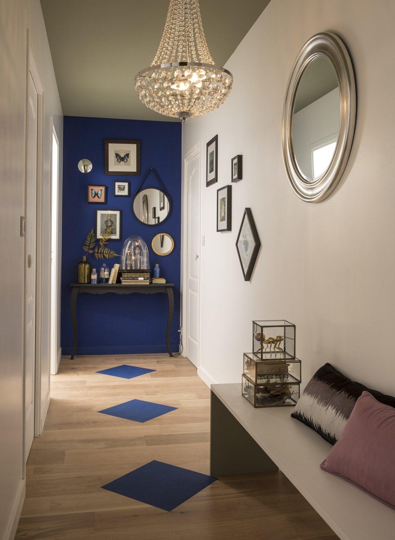 Idée Peinture Couloir Et Entrée une peinture à effet pour une entrée déco | leroy merlin