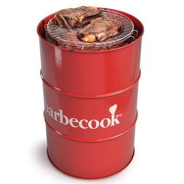 Barbecue au charbon de bois BARBECOOK Edson rouge, rouge