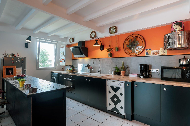 La cuisine très colorée de Philippe à Nancy | Leroy Merlin