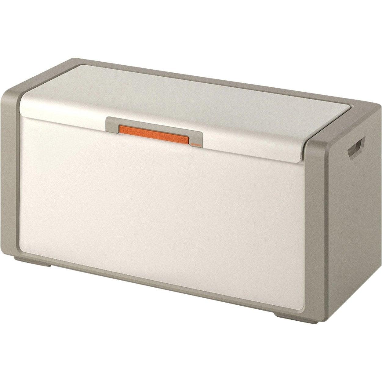 Coffre Monter Premium Plastique L 120 X P 49 X H 54 Cm Leroy