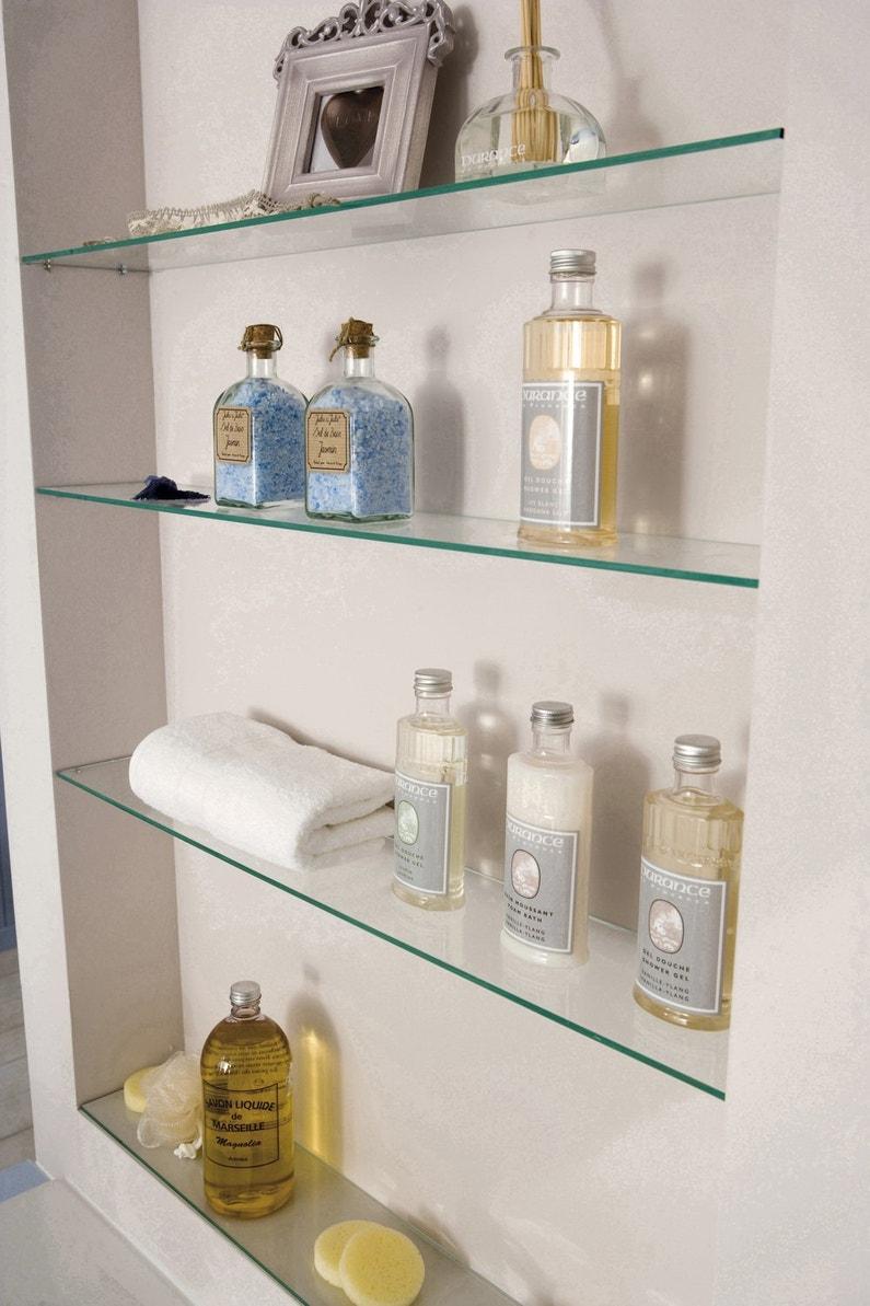 une colonne de rangement pour tous les produits de beaut leroy merlin. Black Bedroom Furniture Sets. Home Design Ideas