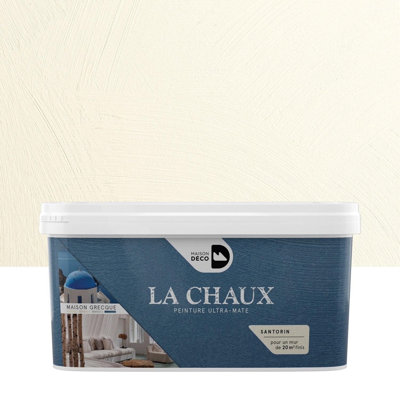 Peinture à Effet, La Chaux   Maison Grecque MAISON DECO, Santorin, 2.5 L