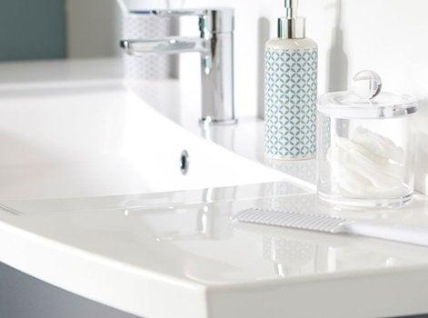 interesting une ou deux vasques with profondeur plan de travail salle de bain. Black Bedroom Furniture Sets. Home Design Ideas