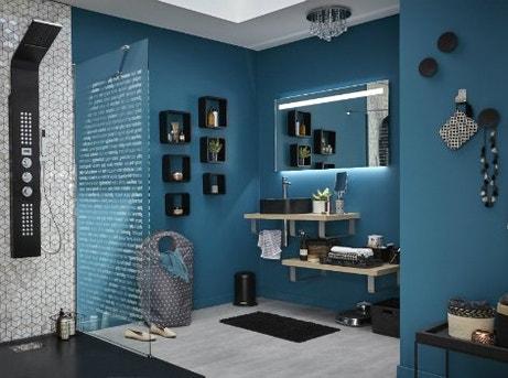 Comment choisir son meuble de salle de bains leroy merlin for Miroir eclairant led
