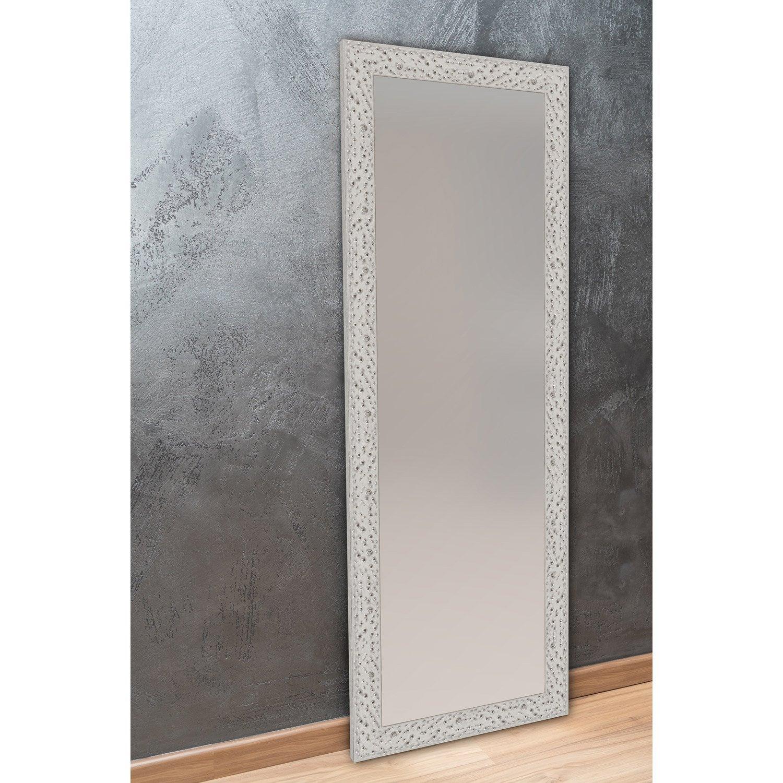 Miroir bulles argent x cm leroy merlin - Miroir 140 cm ...
