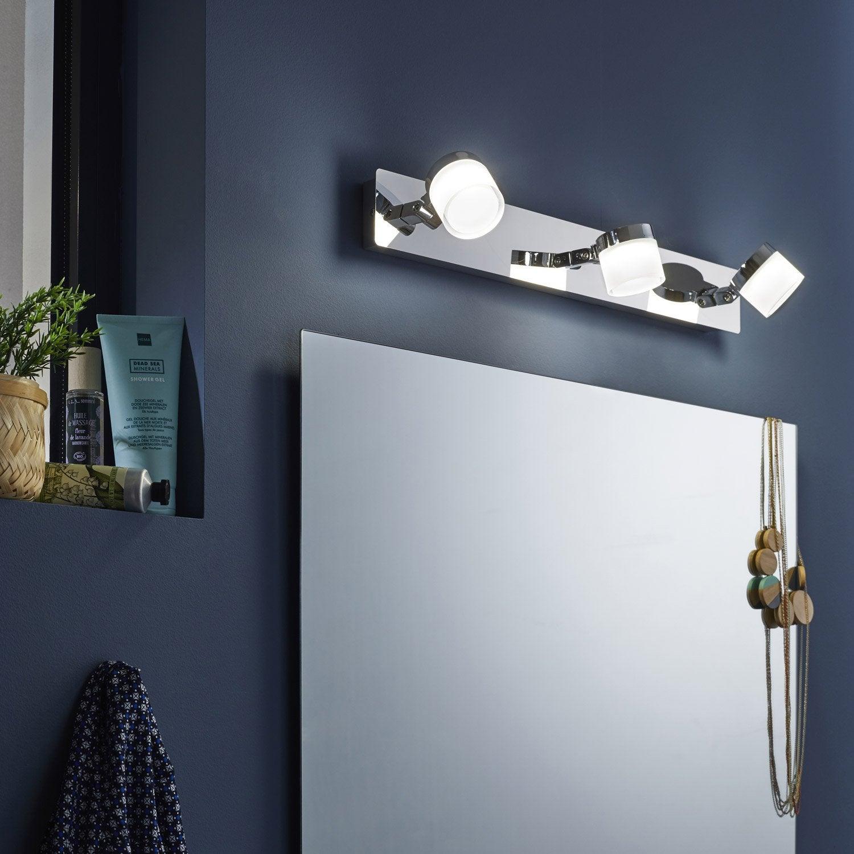Rampe 3 spots led intégrée, design, métal, INSPIRE Coos