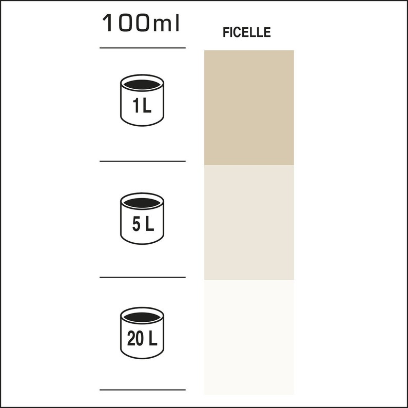 Colorant Haute Concentration Luxens 100 Ml Ficelle Leroy Merlin