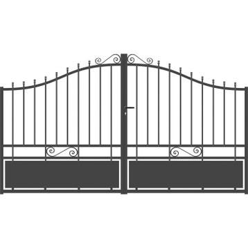 Portail Portail Aluminium Bois Fer Pvc Battant Coulissant Au