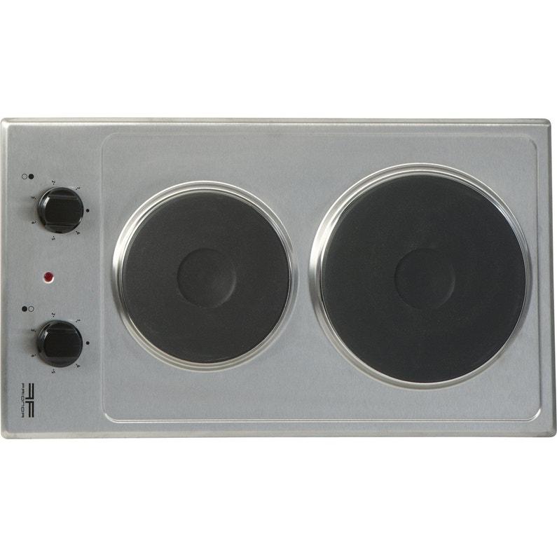 Plaque De Cuisson électrique 2 Foyers Inox Frionor Deinfri