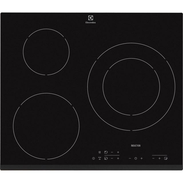 une cuisine design avec une plaque induction 3 foyers noir leroy merlin. Black Bedroom Furniture Sets. Home Design Ideas