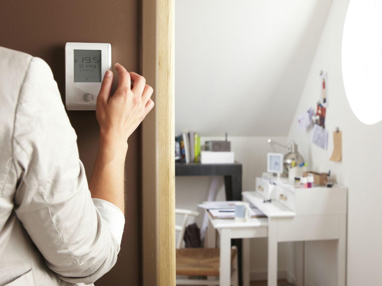comment r guler le chauffage lectrique par cpl leroy merlin. Black Bedroom Furniture Sets. Home Design Ideas