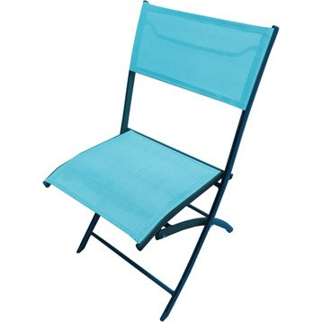 Chaise et fauteuil de jardin salon de jardin table et - Chaise aluminium jardin ...