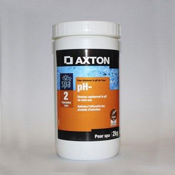 Réducteur de ph spa AXTON, en poudre 2 kg