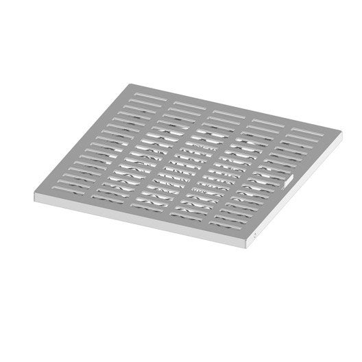 Grille d 39 air frais blanche pour vide sanitaire atelier dixneuf leroy merlin - Grille ventilation vide sanitaire ...