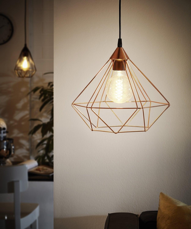 Inspiration cuivre pour le luminaire