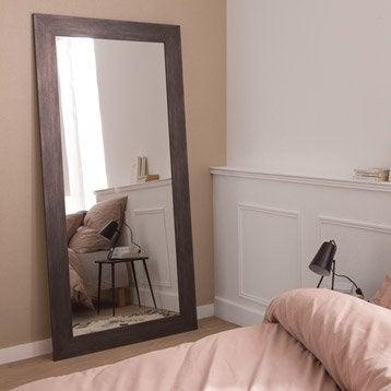 Miroir Loft, graphite, l.70 x H.170 cm