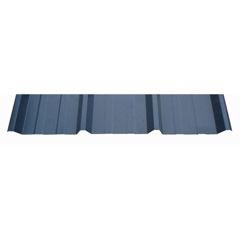 Plaque Nervuree Anti Condensation Bleu 1 05 X 3m Leroy Merlin