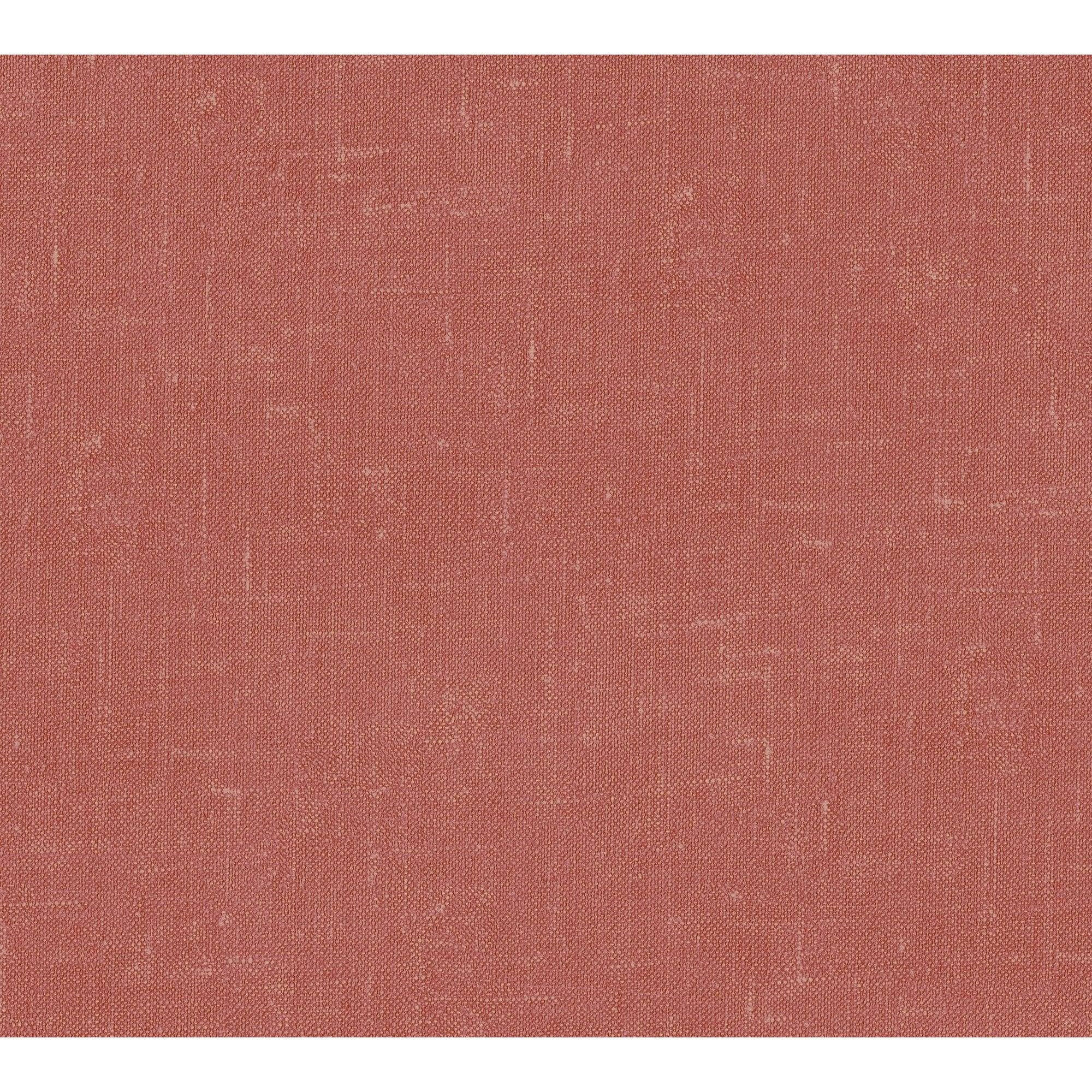 Papier peint vinyle sur intissé Uni ethnique terracotta