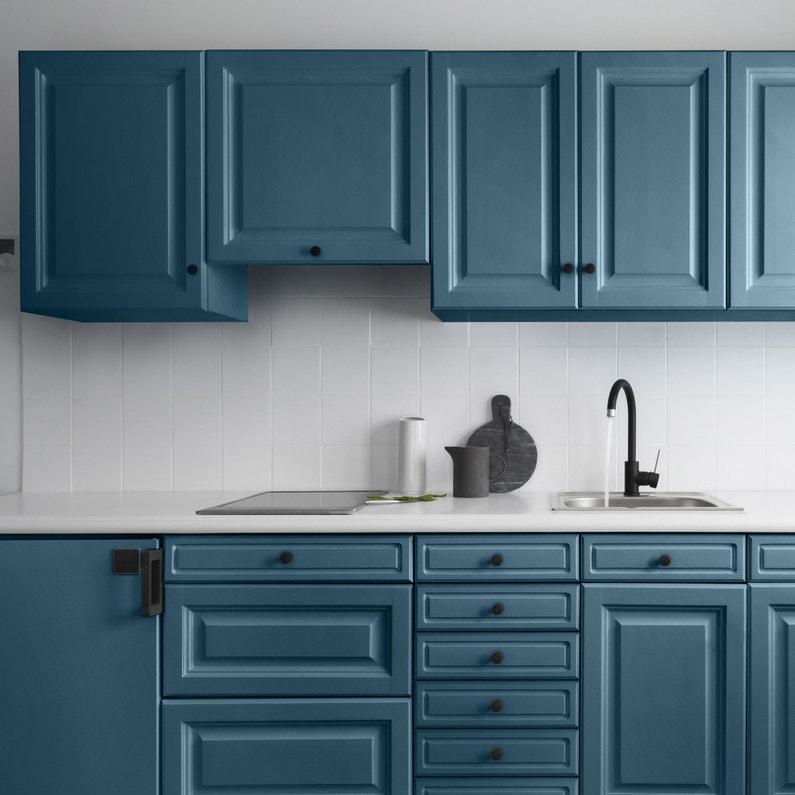 Peinture Cuisine Meuble Et Crédence Decolab V33 Bleu Pétrole Satin