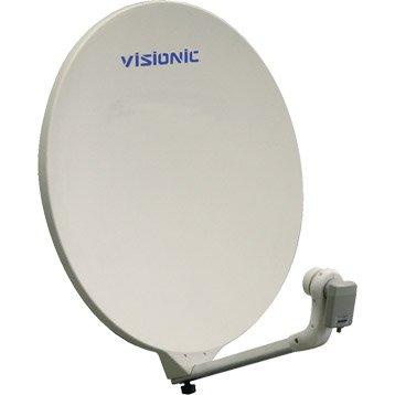 Antenne satellite parabolique composite 85 cm, VISIONIC