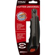 Cutter universel chargeur 6 lames