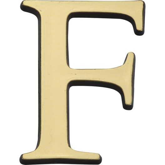 lettre f Lettre f en plastique   Leroy Merlin lettre f