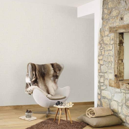 papier peint intiss lucia gris leroy merlin. Black Bedroom Furniture Sets. Home Design Ideas