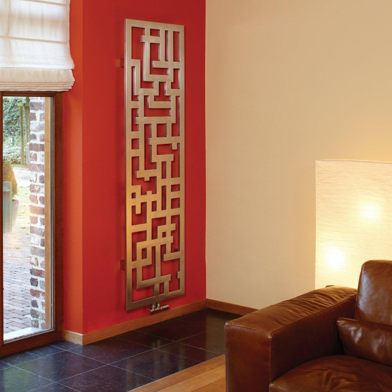 Un radiateur peindre dans votre salon leroy merlin for Demonter un radiateur pour peindre