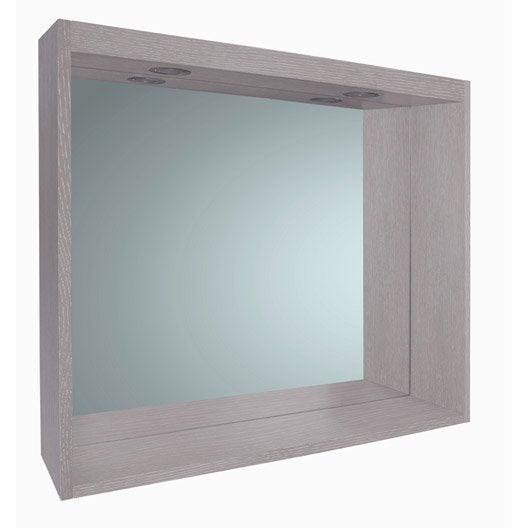 Miroir de salle de bains accessoires et miroirs de salle for Miroir harmon 90 cm