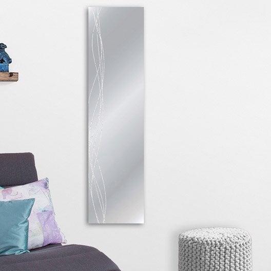 Miroir design industriel miroir mural sur pied leroy for Miroir 30 cm