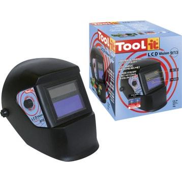 07a5f535e675ff Livraison web offerte Masque de soudeur automatique TOOL-IT Lcd vision 9 -13