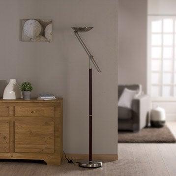 Lampadaire Deska, 180 cm, doré, 23 W
