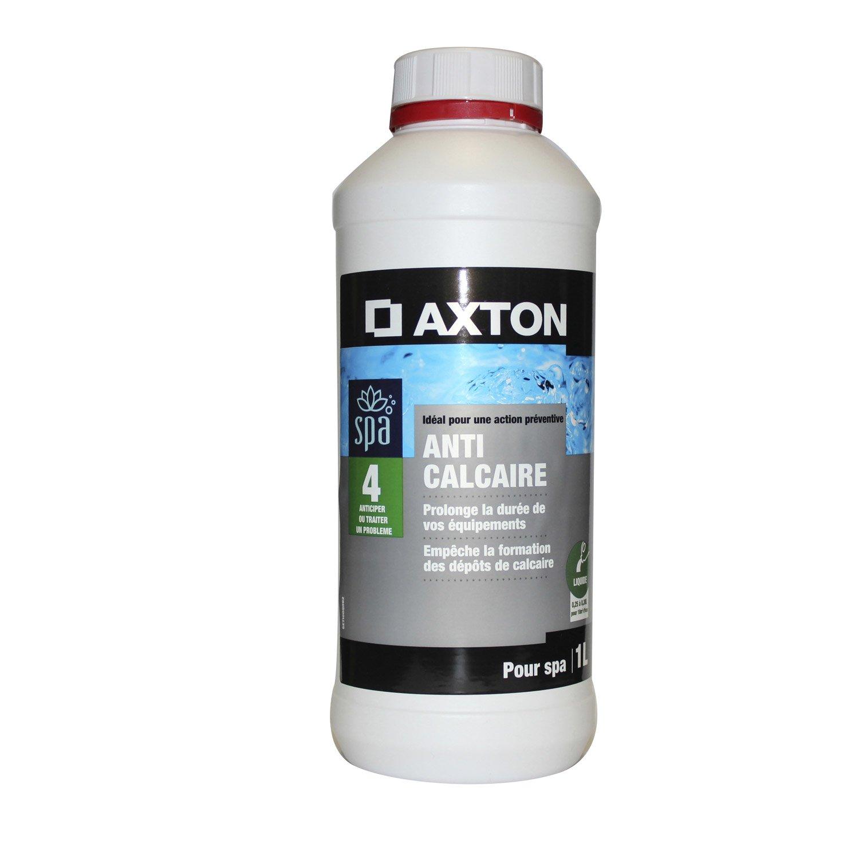 Anticalcaire piscine axton liquide 1 l leroy merlin for Produit piscine